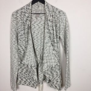 Waterfall Cardigan Sweater Back Ties Lucky Brand S